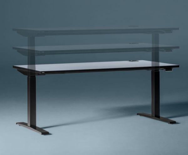 Nowy Styl Schreibtisch mit elektromotorischer Höhenverstellung